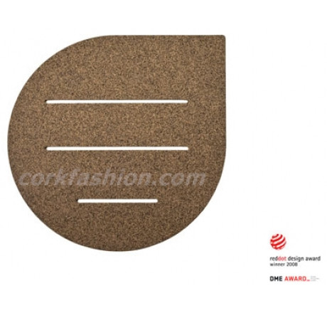 Cork Bath Mat - Drop (model SD-21.03.03) from the manufacturer Simpleformsdesign